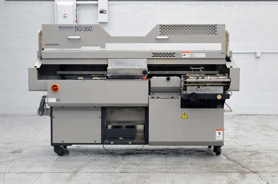 Horizon Bq 260 Perfect Binder Boggs Equipment
