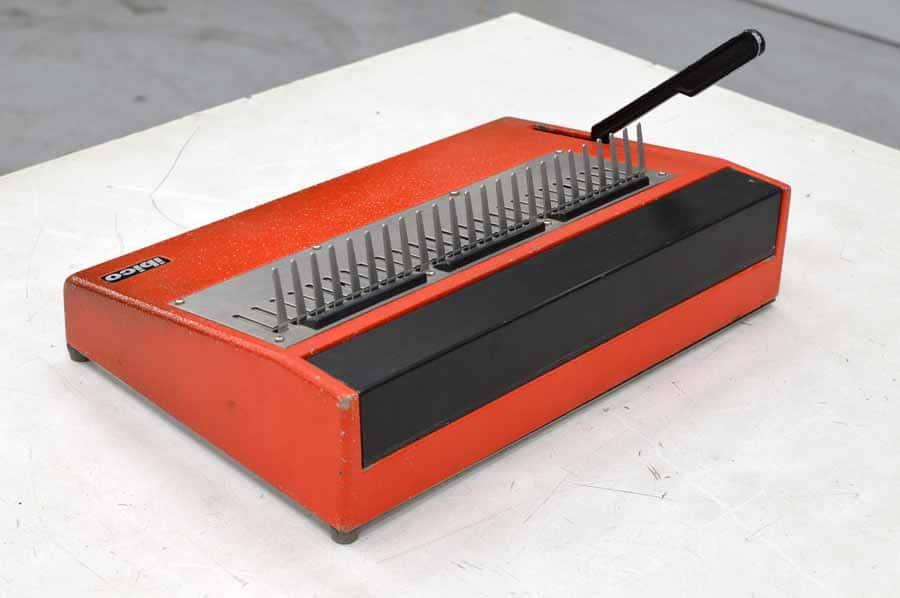 ibico kombo binding machine manual