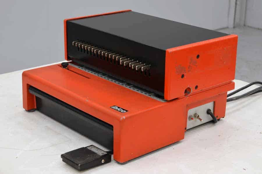 Ibico EP-21 Electric Comb Punch with Foot Pedal