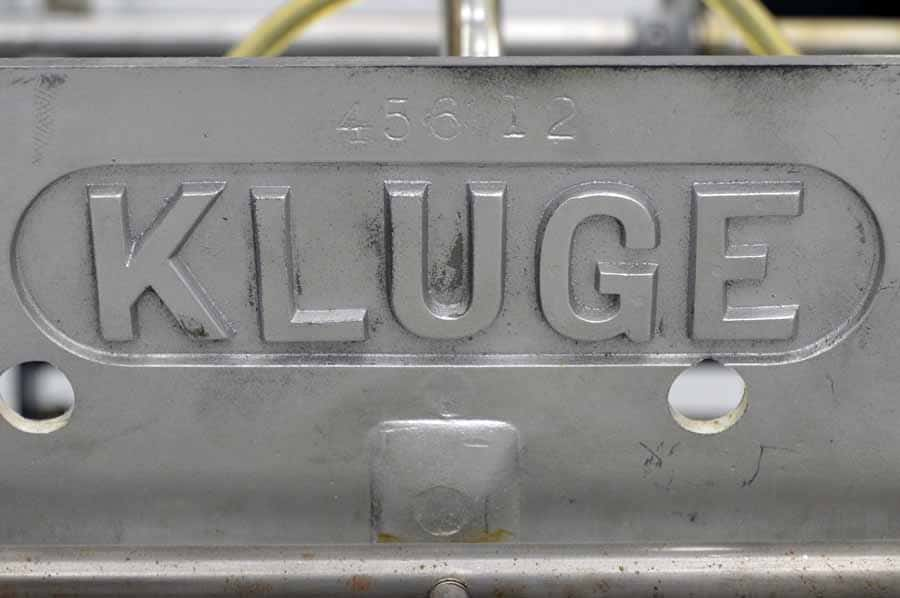 Kluge Foil Stamper and Die Cutter