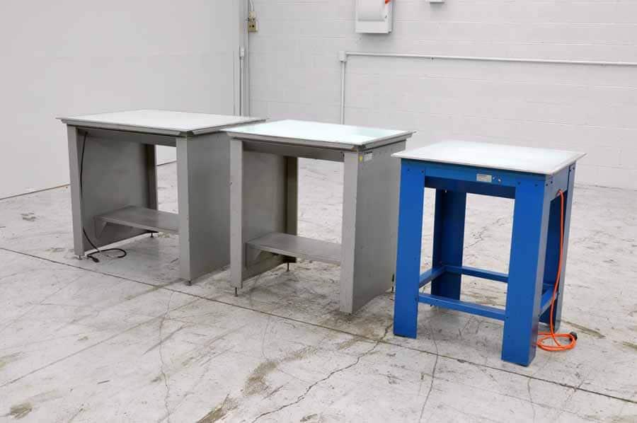 Three Light Tables