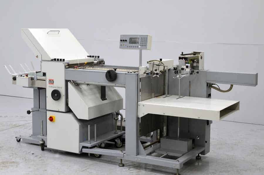 MB Multimaster CAS 52 Autoplate Paper Folder