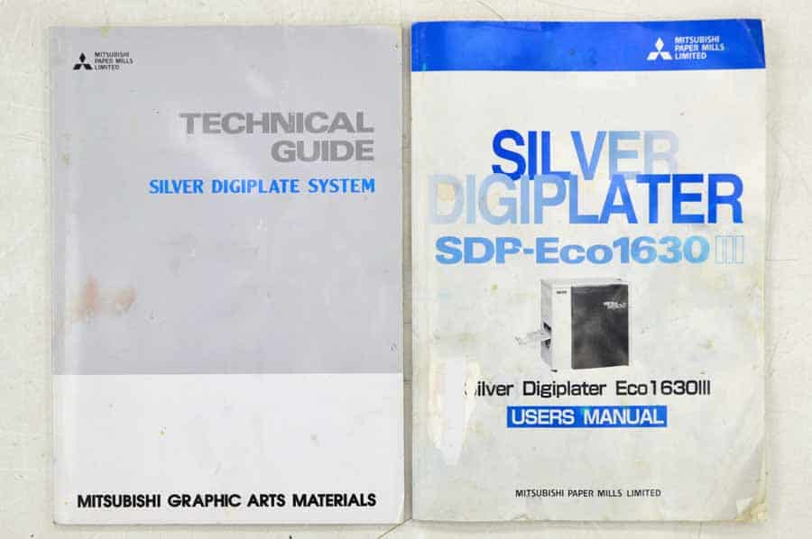 Mitsubishi Silver Digiplate SDP-Eco 1630 III Digital Computer to Plate System