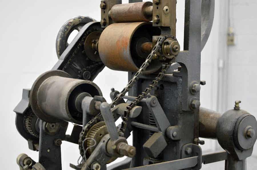 Modern Steel Die and Plate Stamping Press