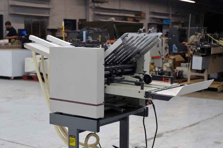 "Multigraphics 142A 14x20"" Air Feed Paper Folder"