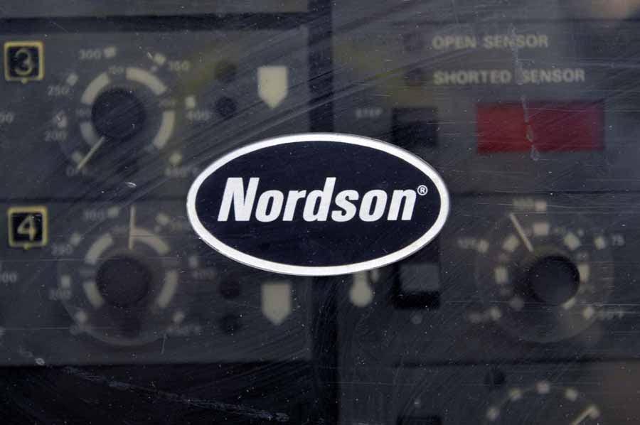 Nordson Series 3500 Microset Multiscan Hot Melt Gluer