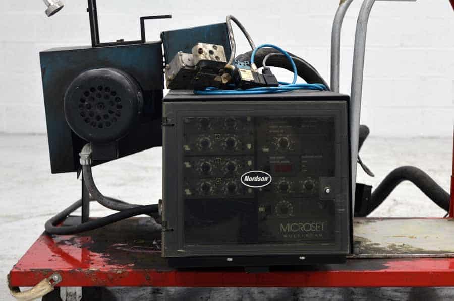 Nordson Series 3500 Microset Multiscan Hot Melt Gluer