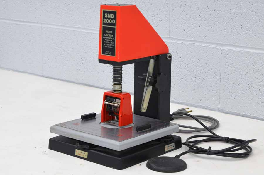 Pierce Socbox SNB 2000-HD Numbering Machine