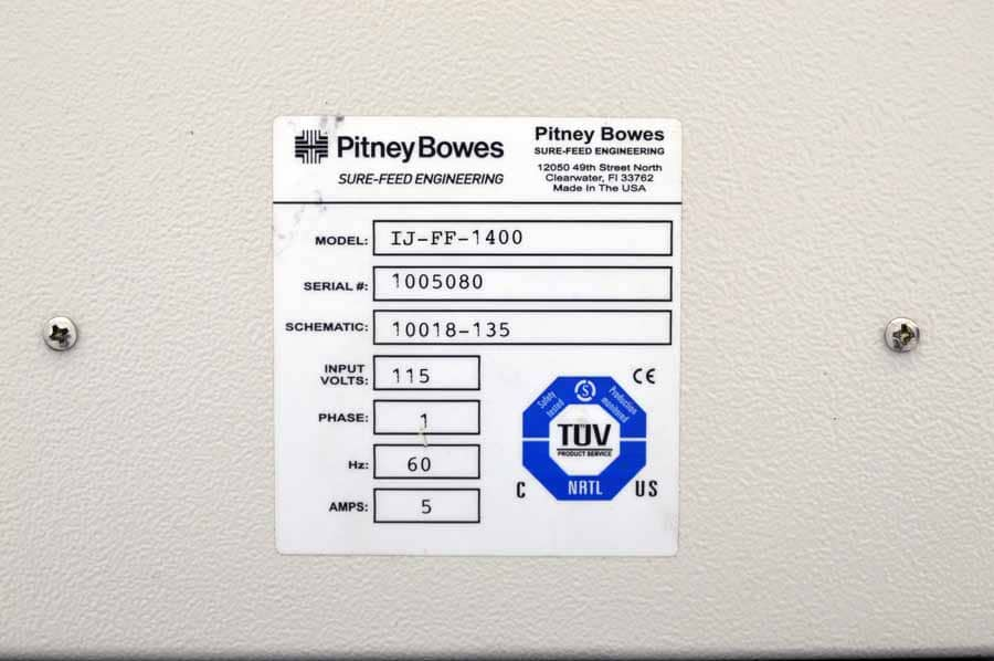 Pitney Bowes MCS Direct Mail System