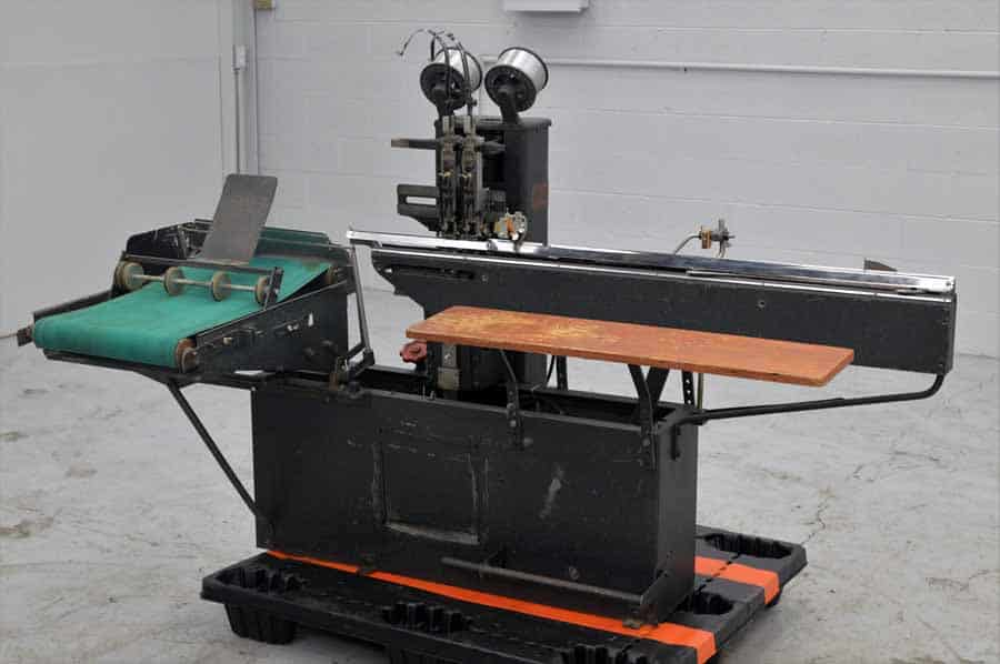 Rosback 202 Two Head Stitching Machine