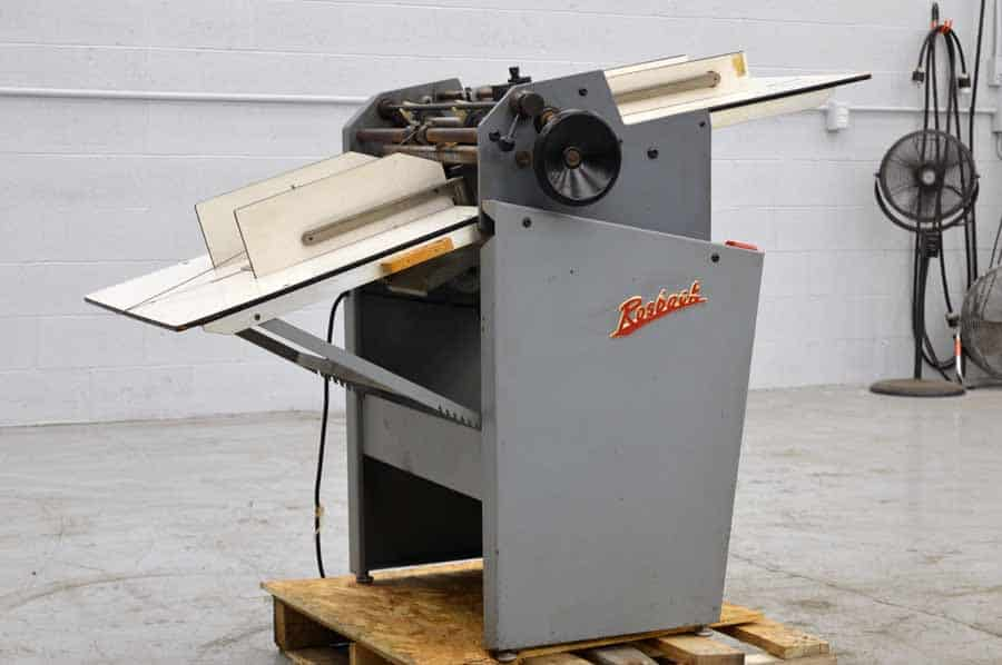 Rosback 220 True Line Perforator
