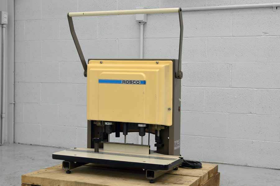 Rosco 350 Table Top Three Hole Paper Drill