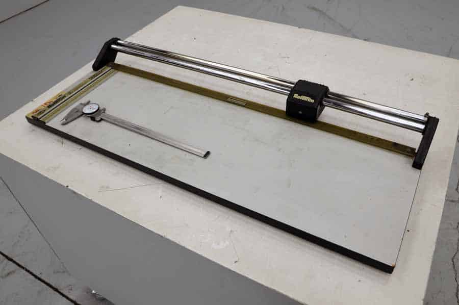 RotaTrim Table Top Paper Cutter