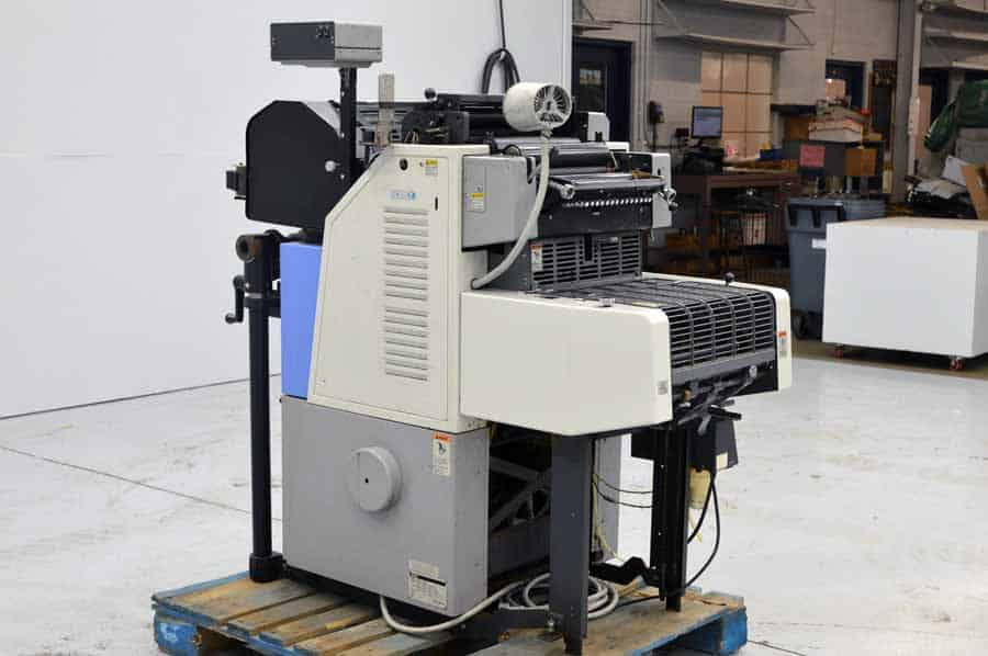 Ryobi 3200 MCD Two Color Offset Press