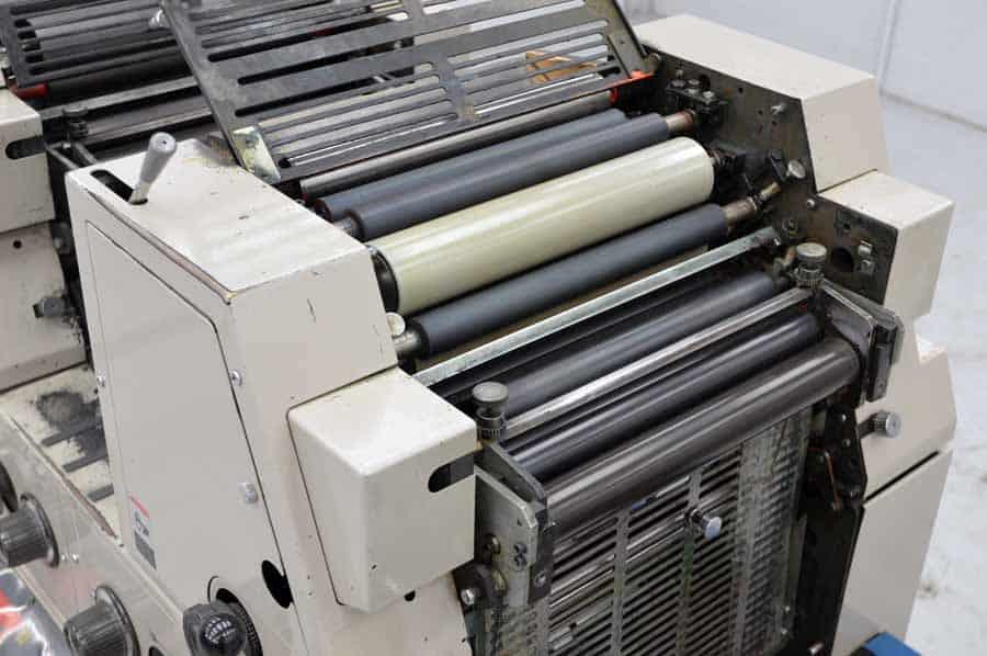 Ryobi 3302M Two Color Printing Press