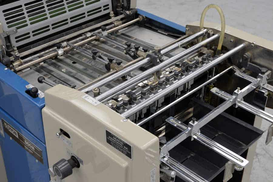 Ryobi 500N Single Color Offset Press with Crestline Dampening