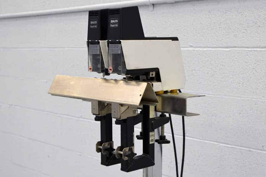 Saddle Stitcher Stand With Two Salco Rapid 106 Electric