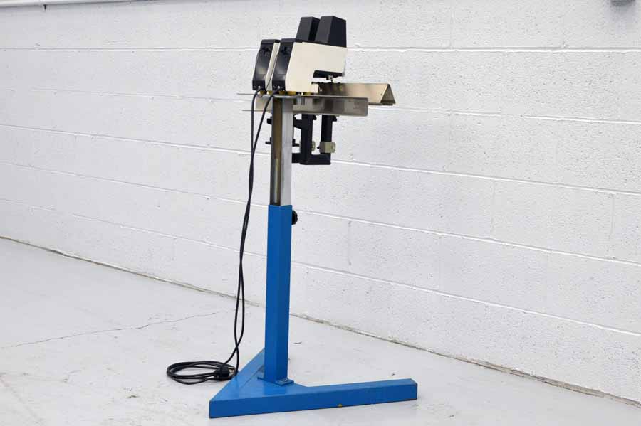 Saddle Stitcher Stand with Two Salco Rapid 106 Electric Staplers