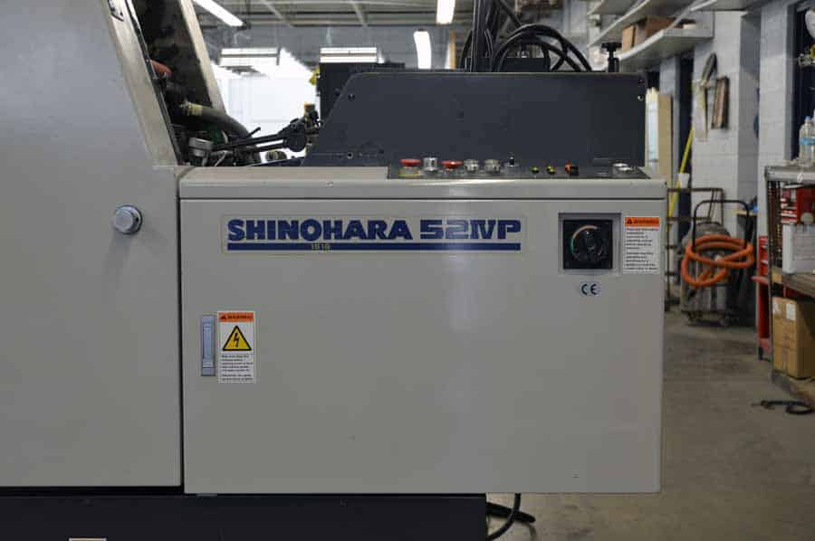 """2001 Shinohara 52IVP Four Color 14"""" x 20"""" Offset Printing Press"""