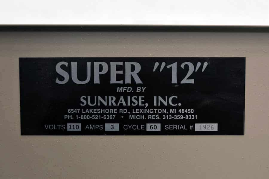 Sunraise Super 12 Business Card Slitter