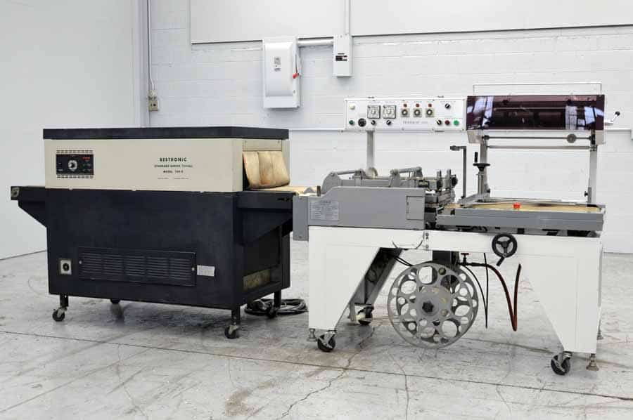 TexWrap 2217C Shrink Wrap Machine with Bestronic T20-9 Heat Tunnel