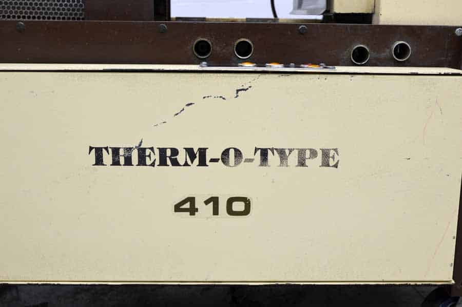 Therm-O-Type 410 M Thermographer