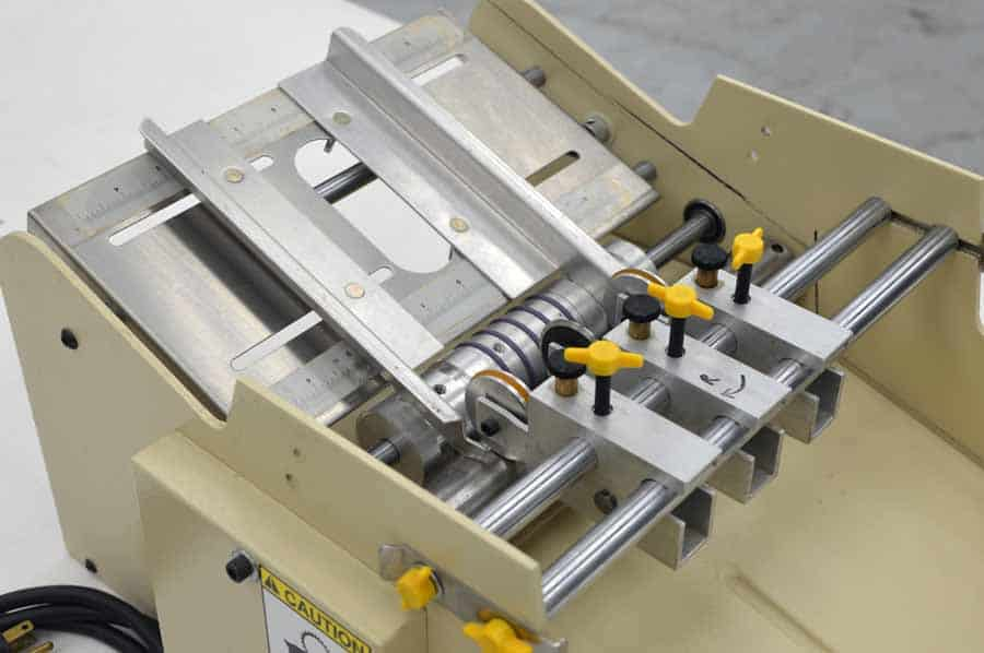 Therm-O-Type BCS-Plus Table Top Business Card Slitter