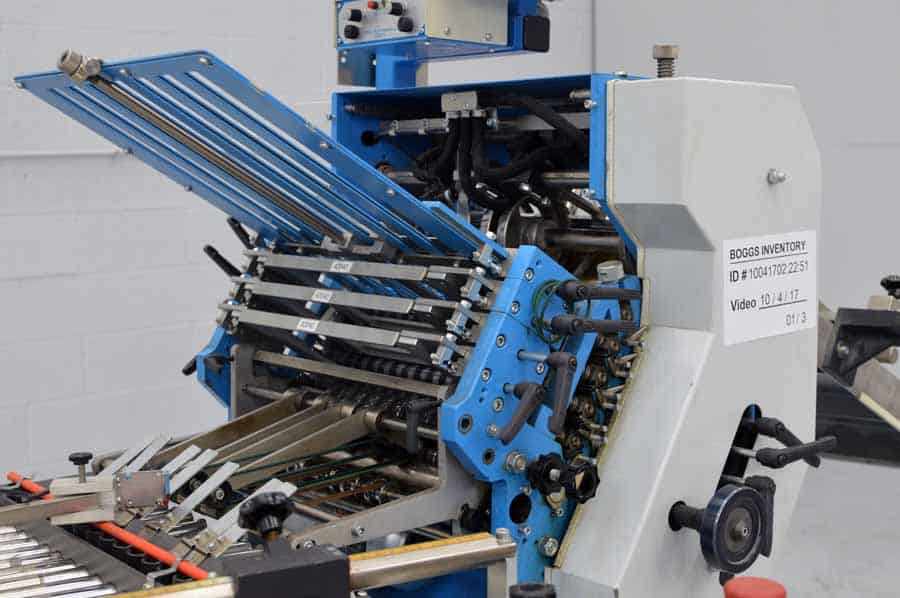 2000 Vijuk FA35 Buckle Plate Folder System with Dual Outserters
