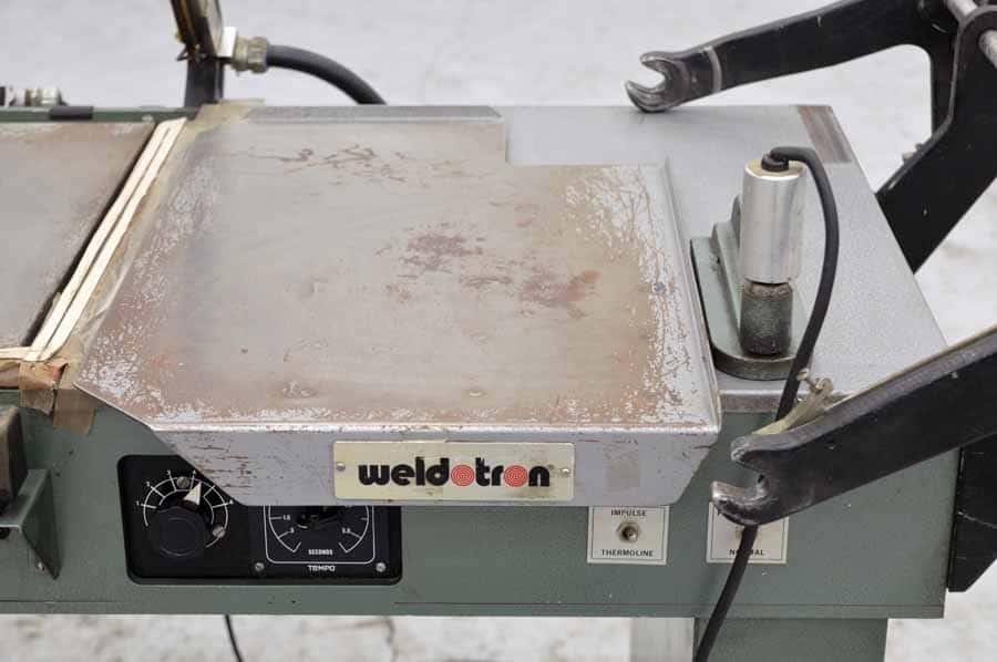 Weldotron Manual L-Bar Sealer and Heat Tunnel Shrink Wrap System