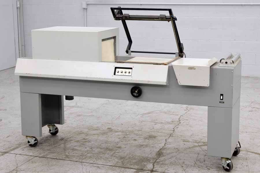 X-Rite 706 L-Bar Sealer with Heat Tunnel Shrink Wrap System