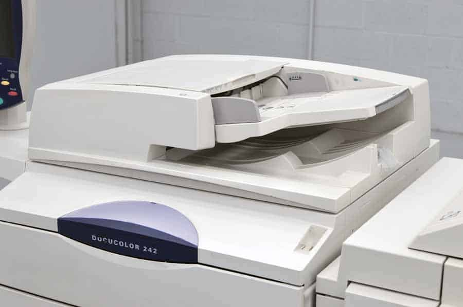 Xerox Docucolor 242 Color Copier