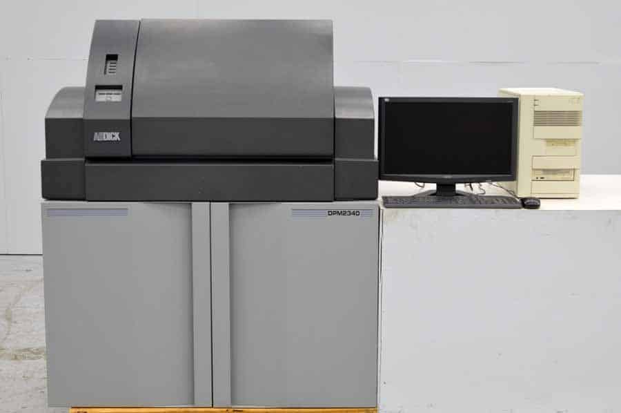 ABDick Digital Platemaster 2340 Computer to Plate System w/ Rip