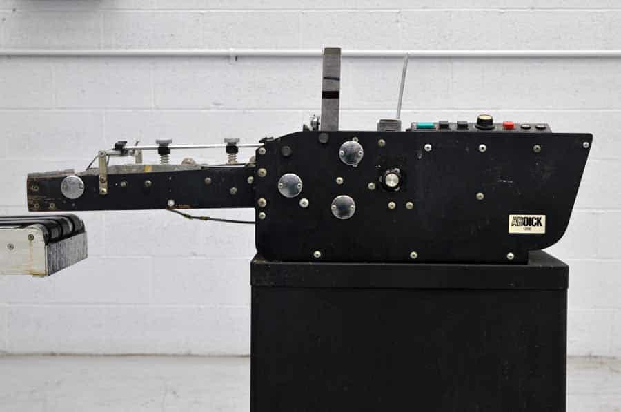 AB Dick 1200 Envelope Feeder w/ Thompson Conveyor