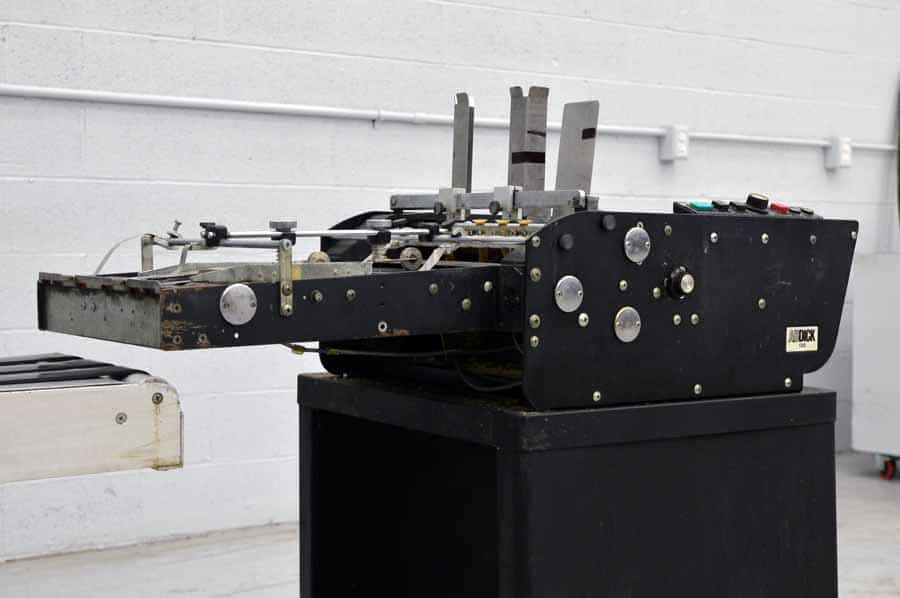 AB Dick 1200 Envelope Feeder w/ Thompson Conveyor