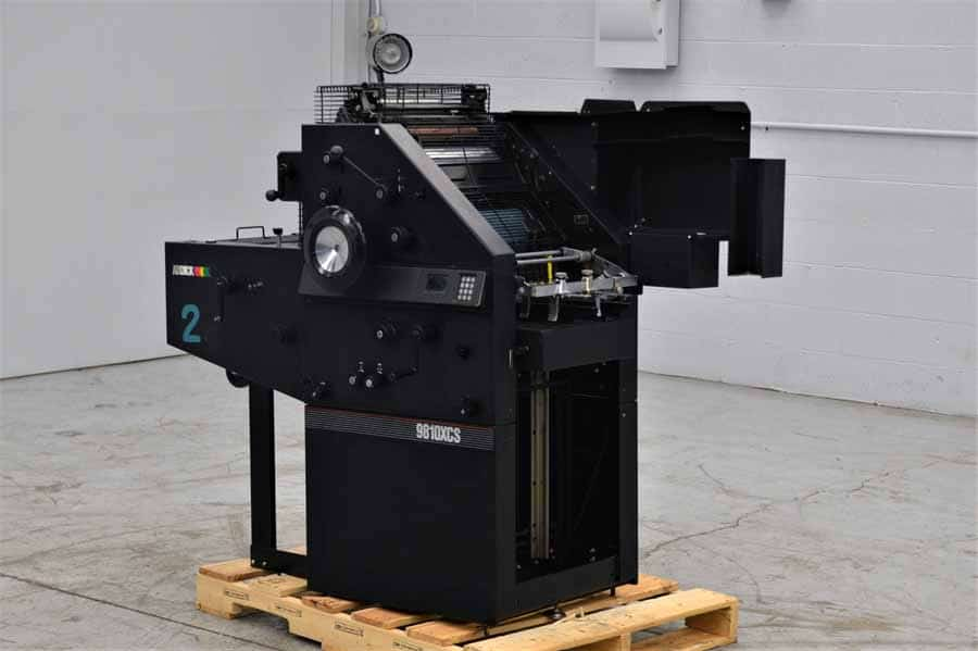 AB Dick 9810 XCS Single Color Offset Press