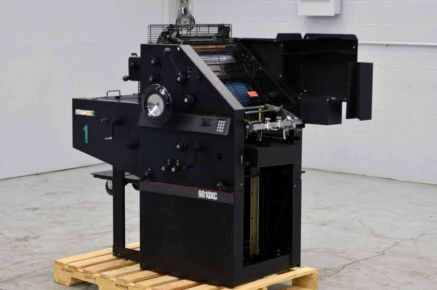 AB Dick 9810 XC Single Color Offset Press