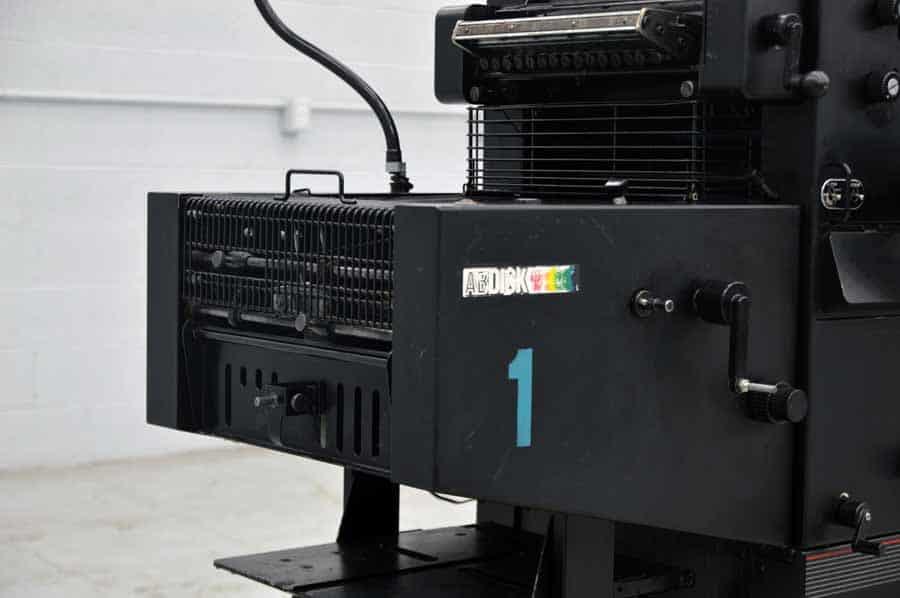AB Dick 9810 XC Single Color Offset Press