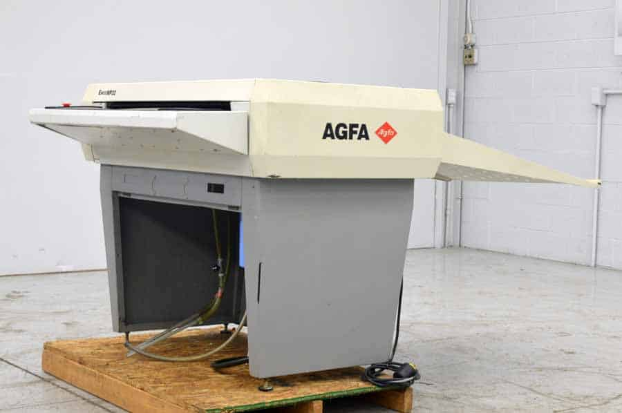 Agfa Enco Np32 Plate Processor Boggs Equipment