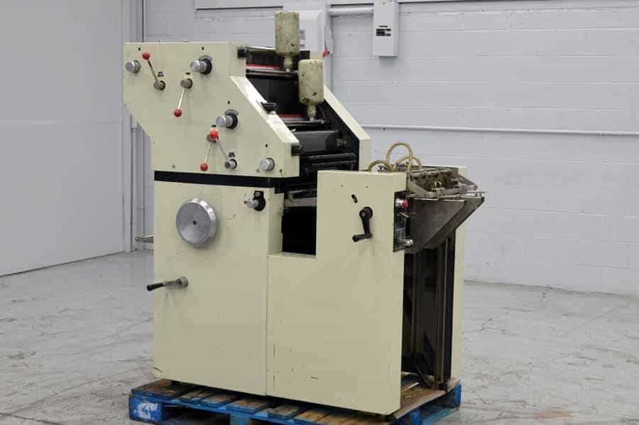 ATF Davidson 702P Single Color Offset Press