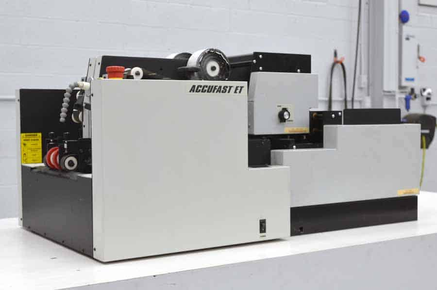 Accufast ET Dual Head Tabber w/ Neopost SLB Address Labeler