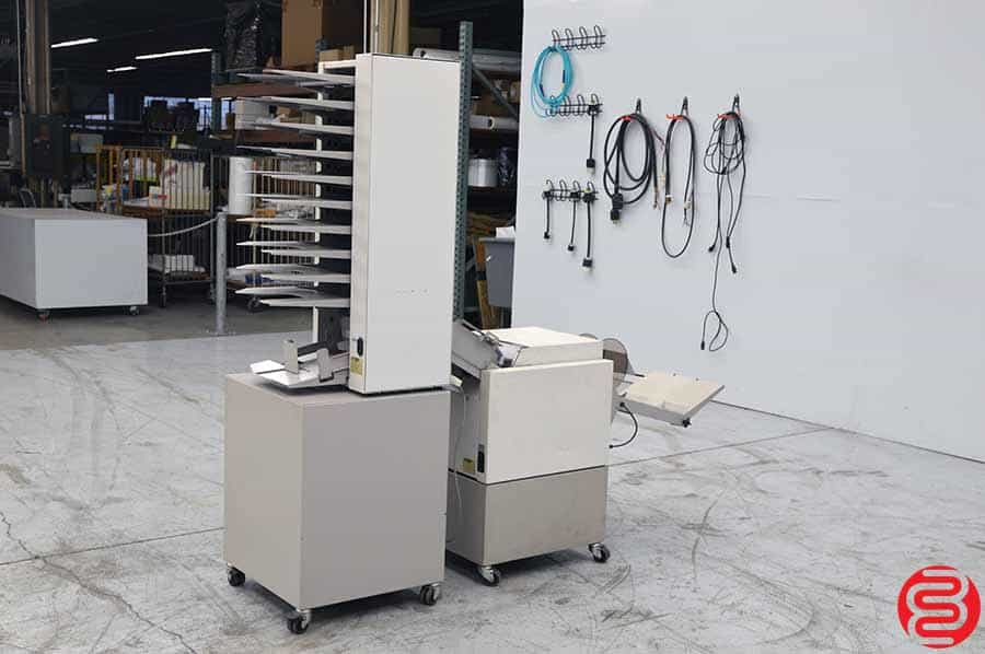 Baum Plockmatic 61Booklet Making System w/ Baum 310 Collator