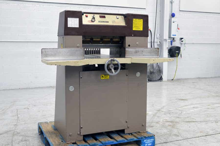 """Challenge Diamond 193 - 19.3"""" Paper Cutter with Digital Readout"""