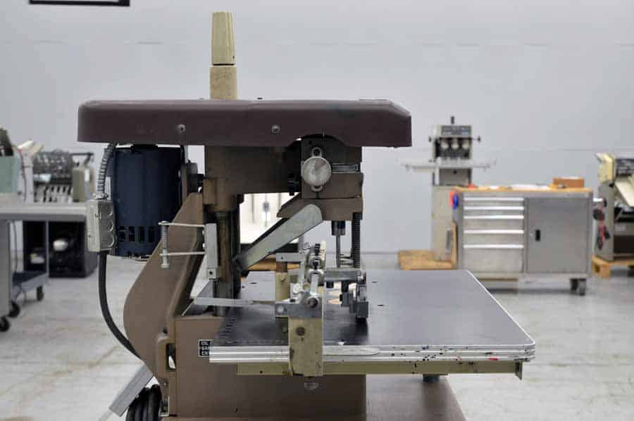 Challenge EH-3A Three Spindle Paper Drill