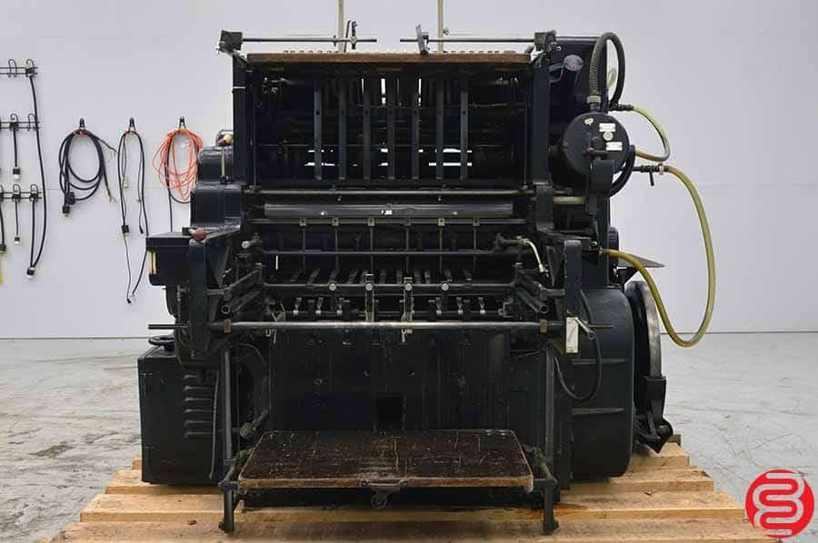 """Heidelberg Cylinder 22"""" x 30 1/4"""" Die Cutter"""