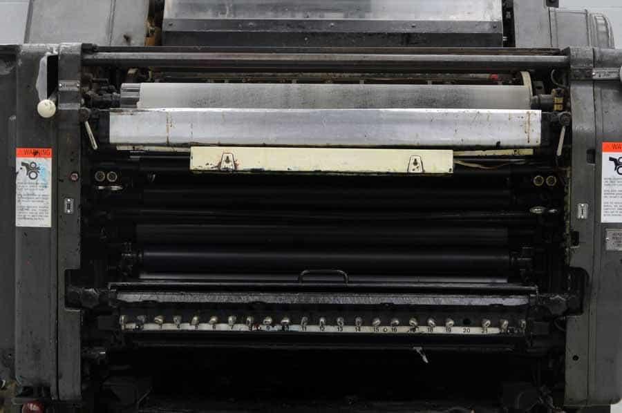 Heidelberg KORS 52 x 72 Single Color Sheet Fed Rotary Offset Press
