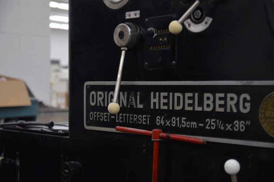 "Heidelberg 25 1/4"" x 36"" Offset Letterset"