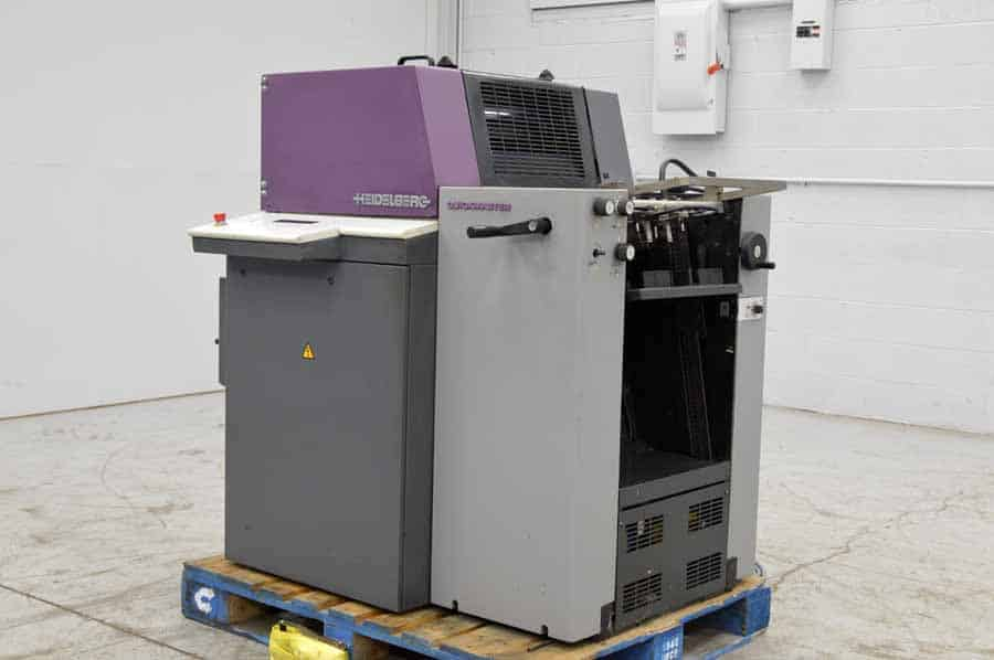 Heidelberg Quickmaster QM 46-1 Single Color Offset Press