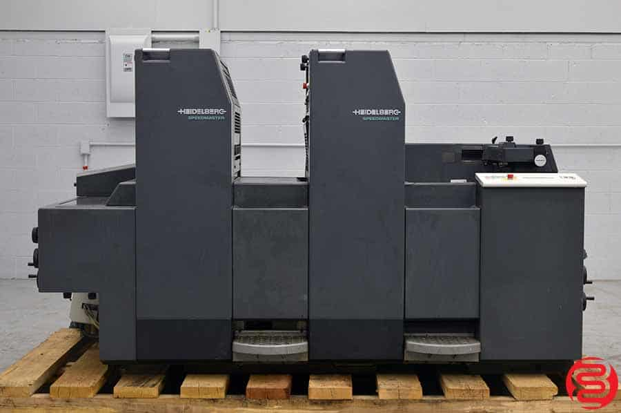 1996 Heidelberg SpeedMaster SM 52-2 Two Color Offset Press