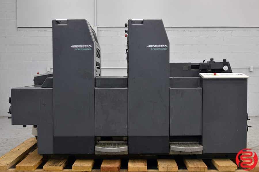 1996 Heidelberg SpeedMaster SM 52-2 Two Color Offset Press