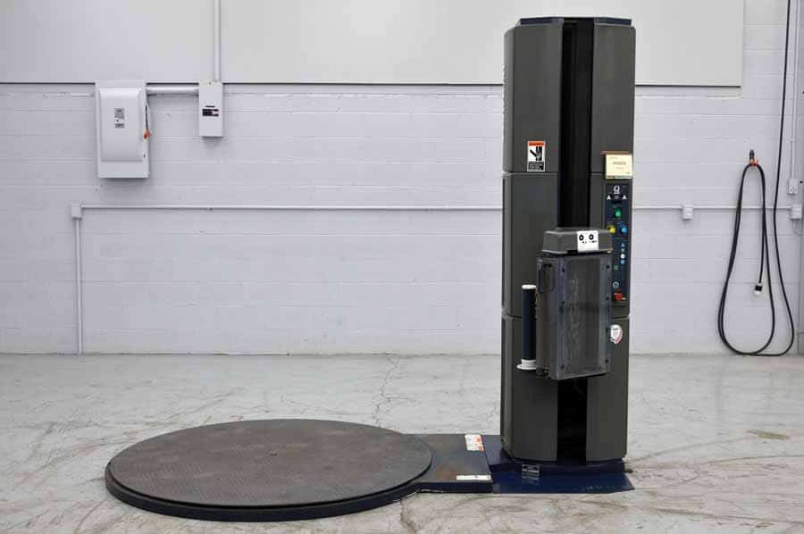 Lantech Q300 Automatic Stretch Wrapper